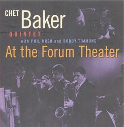 At the Forum Theater - Chet Baker