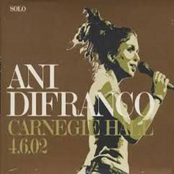 Carnegie Hall - Ani DiFranco