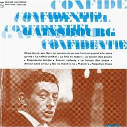 Confidentiel - Serge Gainsbourg