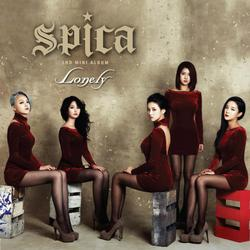 Lonely 2nd Mini Album - Spica - SPICA