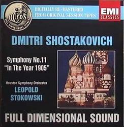 Shostakovich Symphony No. 11 The Year 1905 - Leopold Stokowski - Houston Symphony Orchestra