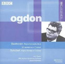 Beethoven - Piano Concerto No. 5; Variations (32) In C Minor; Schubert - Piano Sonata In C Minor - John Ogdon