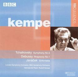 Kempe Conducts Tchaikovsky, Debussy, Janácek - Rudolf Kempe - BBC Symphony Orchestra