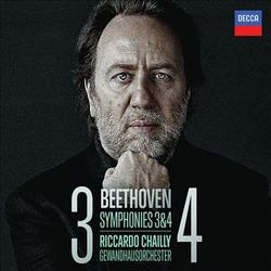 Beethoven - Symphonies Nos. 3 & 4 - Riccardo Chailly - Leipzig Gewandhaus Orchestra