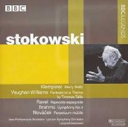 Stokowski Conducts Klemperer, Vaughan Williams, Ravel, Brahms, Novácek - Leopold Stokowski - London Symphony Orchestra