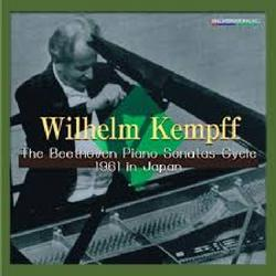 The Beethoven Piano Sonatas Cycle 1961 In Japan Dics 4 - Wilhelm Kempff