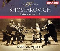 Shostakovich - String Quartets 1-13 CD 4 - Borodin Quartet
