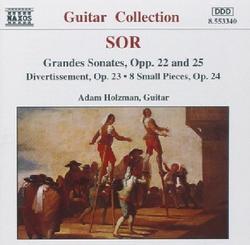 Sor - Grandes Sonates, Opp. 22 & 25 (No. 2) - Adam Holzman