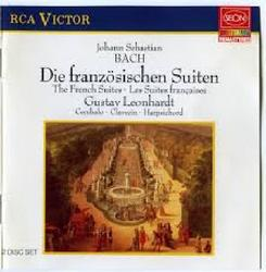 J. S. Bach - The French Suites; Die Franzosischen Suiten CD 2 (No. 2) - Leonhardt Gustav