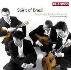Spirit Of Brazil - Aquarelle Guitar Quartet