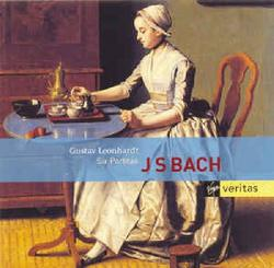 J. S. Bach -  Six Partitas CD 2 (No. 2) - Leonhardt Gustav
