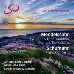 Mendelssohn - Symphony No 3, Schumann - Piano Concerto CD 1 - Maria Joao Pires - John Eliot Gardiner - London Symphony Orchestra