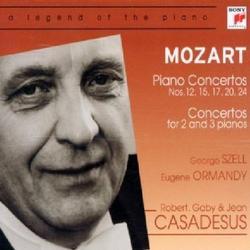 Mozart - Piano Concertos, Concertos For 2 And 3 Piano Vol 1 CD 1 - George Szell - Eugene Ormandy - Various Artists