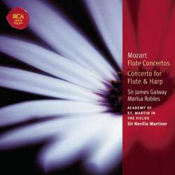 Mozart - Flute Concertos; Concerto For Flute & Harp - Sir Neville Marriner - James Galway - Academy Of St Martin InThe Fields