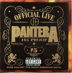 Official Live 101 Proof - Pantera