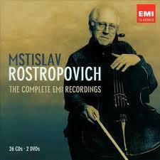 The Complete EMI Recordings CD24 - Mstislav  Rostropovich