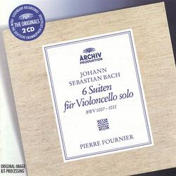Bach 6 Suites For Unaccompanied Cello CD2 ( No. 2) - Pierre Fournier