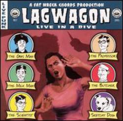 Live In A Dive (CD1) - Lagwagon