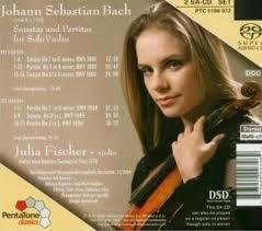 Bach:Sonatas And Partitas For Violin Solo CD1 - Julia Fischer - Julia - Fischer