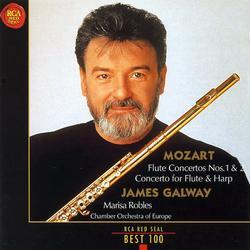 Mozart Flute Concertos Nos 1 & 2 Concerto for Flute & Harp - James Galway