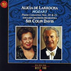 Mozart Piano Concertos Nos 20 & 21 - Alicia De Larrocha - Colin Davis