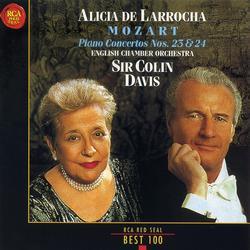 Mozart Piano Concertos Nos 23 & 24 - Alicia De Larrocha - Colin Davis