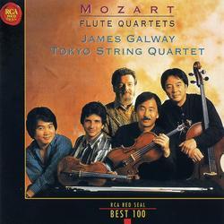 Mozart Flute Quartets Disc 1 - Tokyo String Quartet,James Galway - James Galway