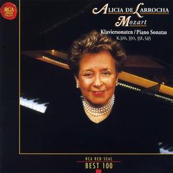 Mozart Piano Sonatas - Alicia De Larrocha