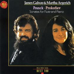 Frank, Prokofiev Sonatas For Flute And Piano - James Galway,Martha Argerich - James Galway