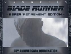 Blade Runner - Esper Retirement Edition CD1 The Score (Part 1) - Vangelis