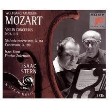 Isaac Stern:Mozart Violin Concertos CD1 - Isaac Stern - Pinchas Zuckerman