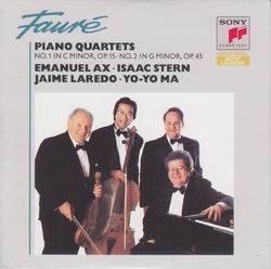 Faure  Piano Quartets - Various Artists