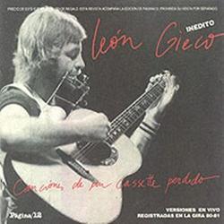 Canciones de un cassette perdido (CD2) - León Gieco
