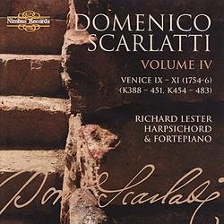Scarlatti - The Complete Sonatas, Vol. IV Disc 1 - Richard Lester