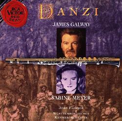 Danzi - James Galway - Sabine Meyer