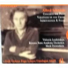 Alfred Schnittke - Concerto For Piano; Variations On One Chord; Improvisation & Fugue - Victoria Lubitskaya