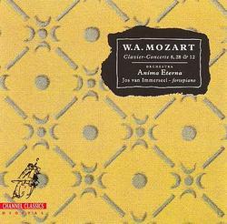 Mozart - Clavier Concerte 8, 28 & 12 - Jos Van Immerseel