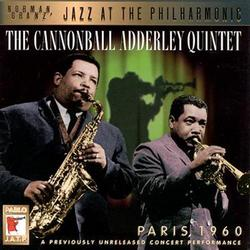 Paris 1960 - Cannonball Adderley