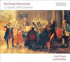 Des Königs Flötenmeister - J.J. Quantz Flute Concertos - Frank Theuns