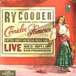 Live In San Francisco - Ry Cooder - Corridos Famosos