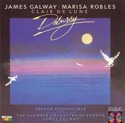 Clair De Lune - Music Of Debussy - James Galway - Marisa Robles