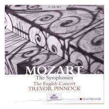 Mozart - The Symphonies CD 1 (No. 1) - Trevor Pinnock - The English Concert