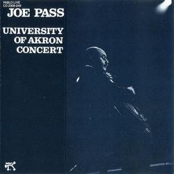 University Of Akron Concert - Joe Pass