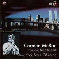 New York State Of Mind - Carmen Mcrae - Dave Brubeck