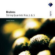 Brahms - String Quartets Nos 1 & 3 - Borodin Quartet