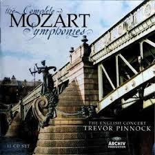 Mozart - The Complete Symphonies CD 11 - Trevor Pinnock - The English Concert