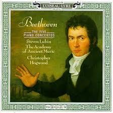 Beethoven - The Five Piano Concertos CD 1 - Christopher Hogwood - Steven Lubin - Academy Of Ancient Music