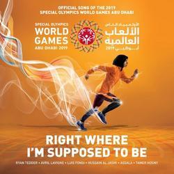 Right Where I'm Supposed To Be (Single) - Ryan Tedder - Avril Lavigne - Luis Fonsi - Hussain Al Jassmi - Assala - Tamer Hosny