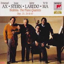 Brahms: The Piano Quartets, Op. 25, 26 & 60 (Disc 1) - Emanuel Ax - Yo-Yo Ma - Isaac Stern - Jaime Laredo
