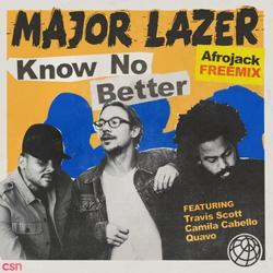 Know No Better (Afrojack Remix) (Single) - Major Lazer - Travis Scott - Camila Cabello - Quavo